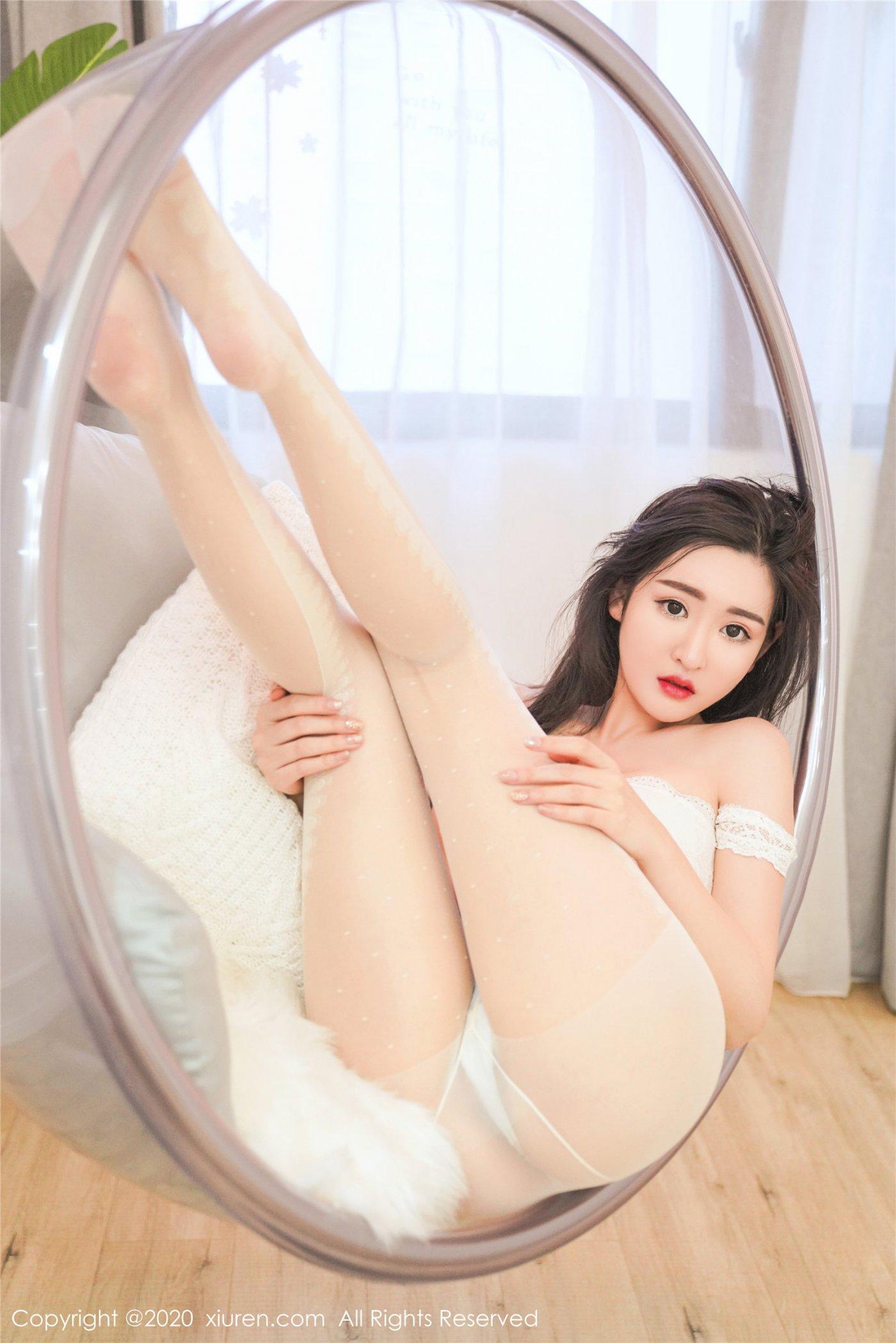 白色丝袜 沈梦瑶(Vol. 2233) 性感mm-第2张