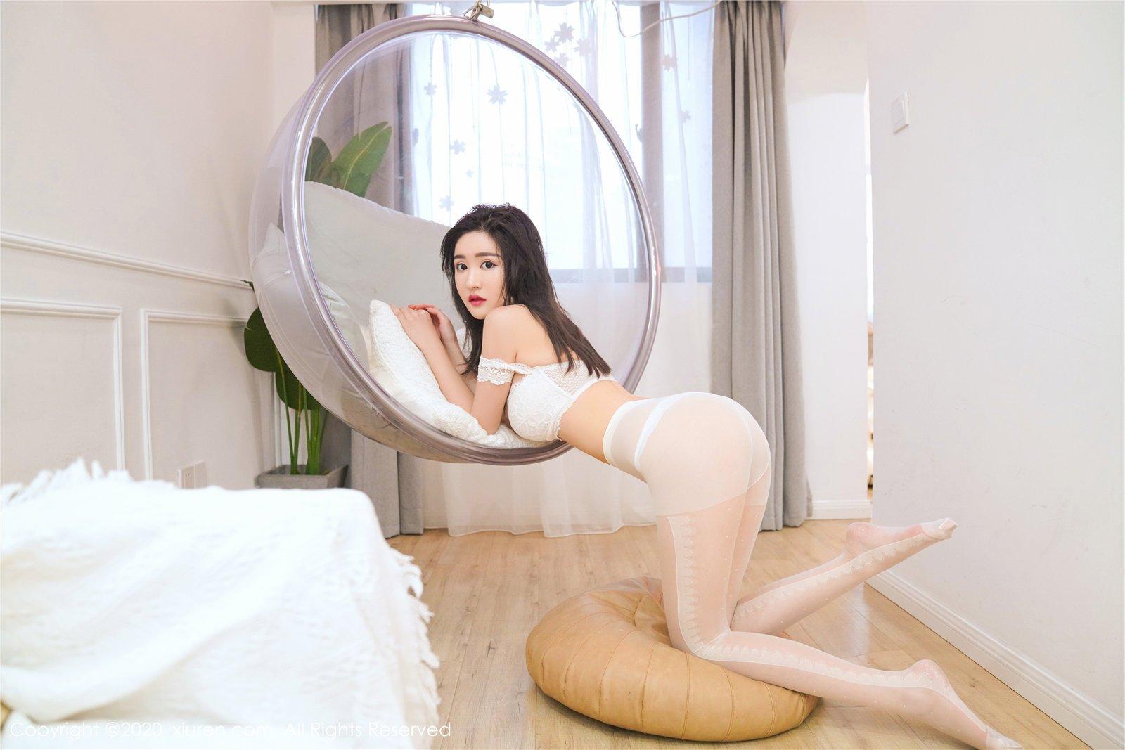 白色丝袜 沈梦瑶(Vol. 2233) 性感mm-第4张