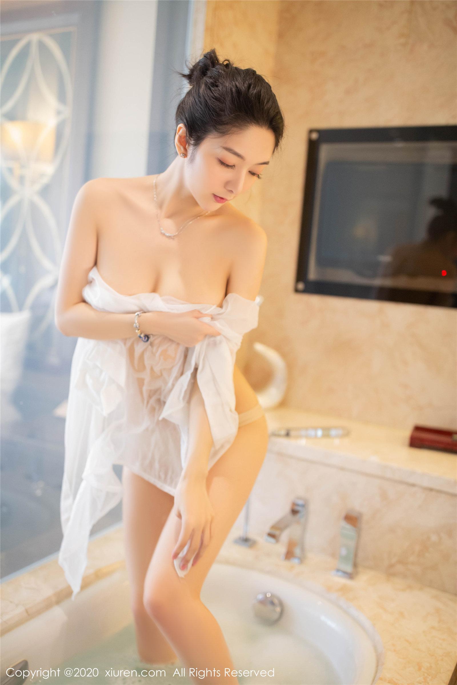 浴室主题 Angela小热巴(Vol. 2063) 性感mm-第3张