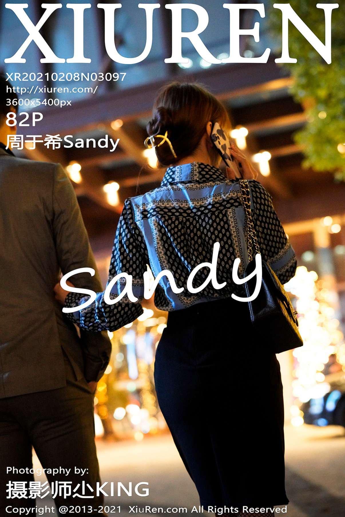 周于希Sandy(Vol. 3097) 性感mm-第1张