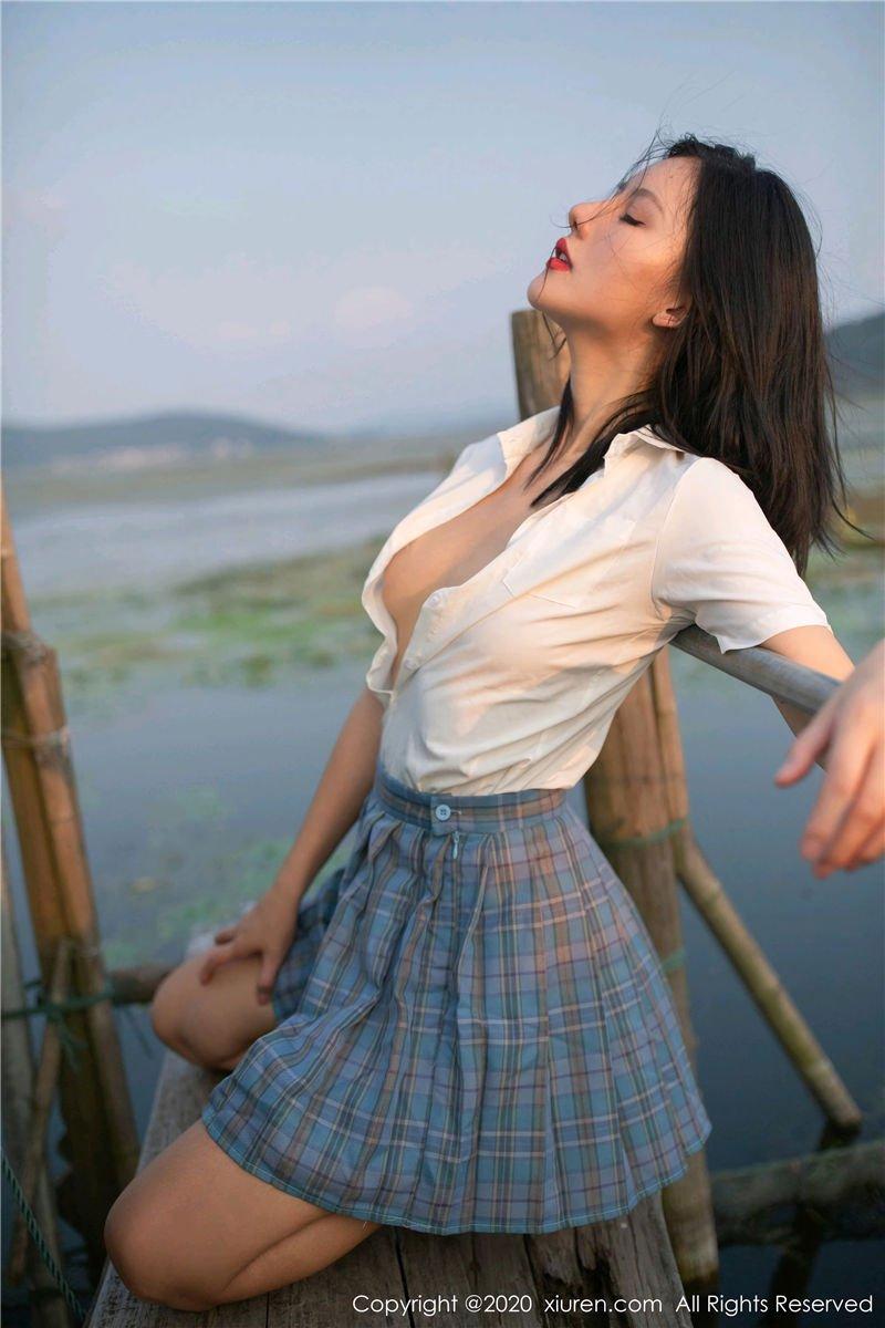 就是阿朱啊《渔村主题写真》(Vol. 2558) 性感mm-第3张