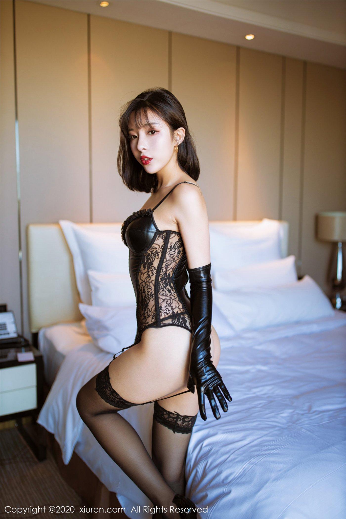 黑色皮衣与黑丝 陈小喵(Vol. 2068) 性感mm-第2张